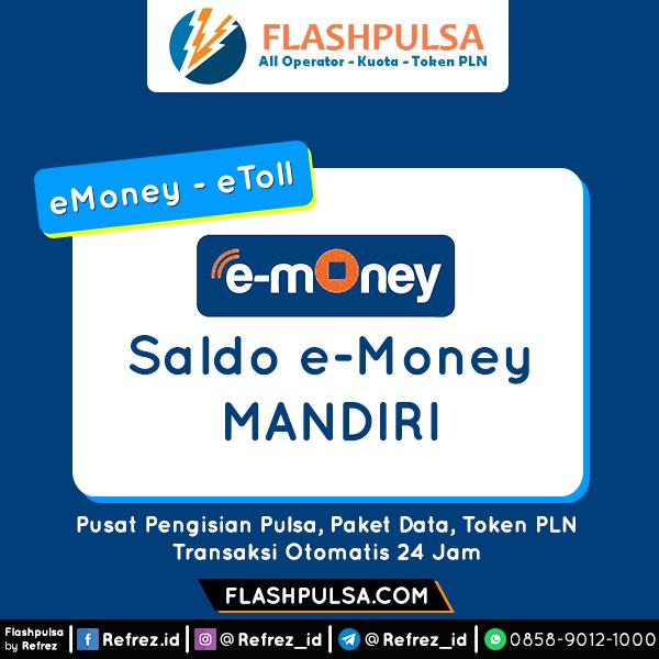 E-Toll Mandiri/BNI ETOLL EMONEY MANDIRI - eToll Mandiri 50.000