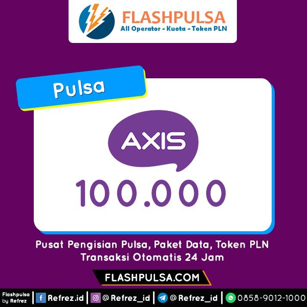 Pulsa Axis Pulsa - Axis 100.000