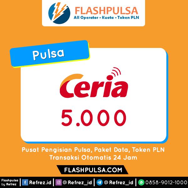 Pulsa Ceria Pulsa - Ceria 5.000