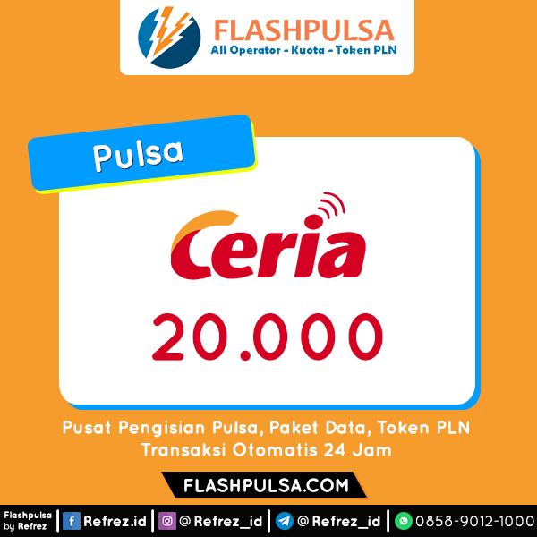 Pulsa Ceria Pulsa - Ceria 20.000