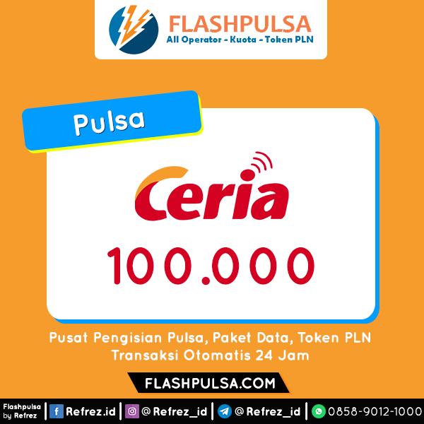 Pulsa Ceria Pulsa - Ceria 100.000