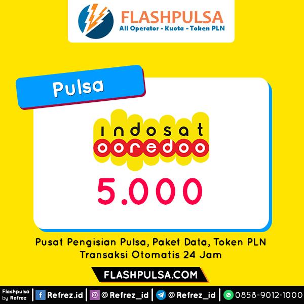 Pulsa Indosat Pulsa - Indosat 5.000