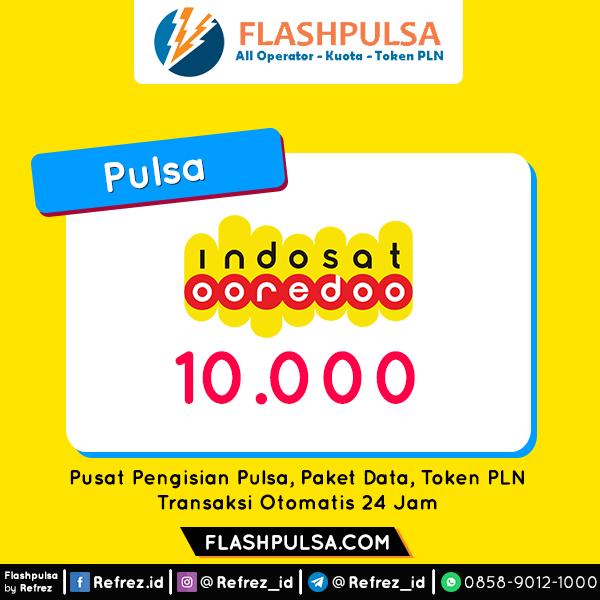 Pulsa Indosat Pulsa - Indosat 10.000