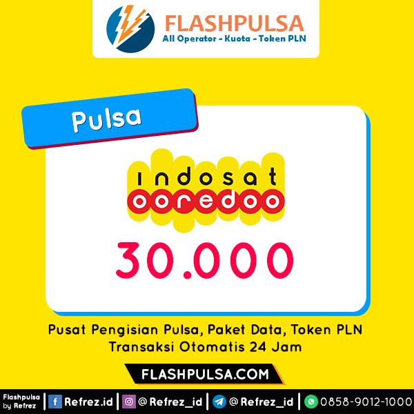 Pulsa Indosat Pulsa - Indosat 30.000