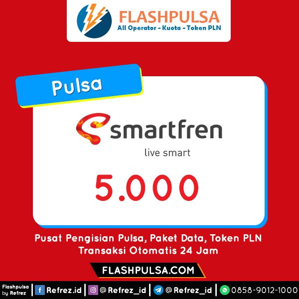 Pulsa SMART Pulsa - Smartfren 5.000