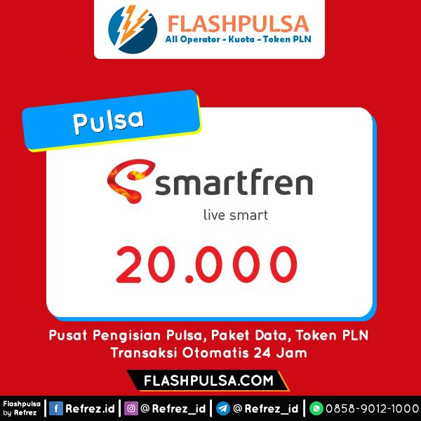 Pulsa SMART Pulsa - Smartfren 20.000