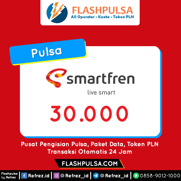 Pulsa SMART Pulsa - Smartfren 30.000