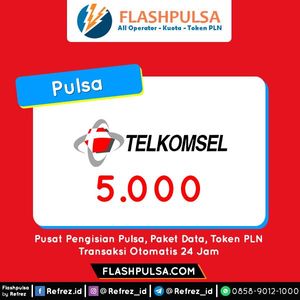 Pulsa TELKOMSEL Pulsa - Telkomsel 5.000