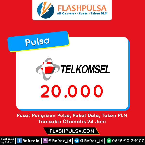 Pulsa TELKOMSEL Pulsa - Telkomsel 20.000