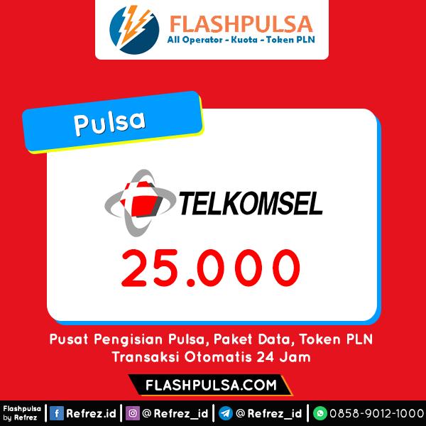 Pulsa TELKOMSEL Pulsa - Telkomsel 25.000