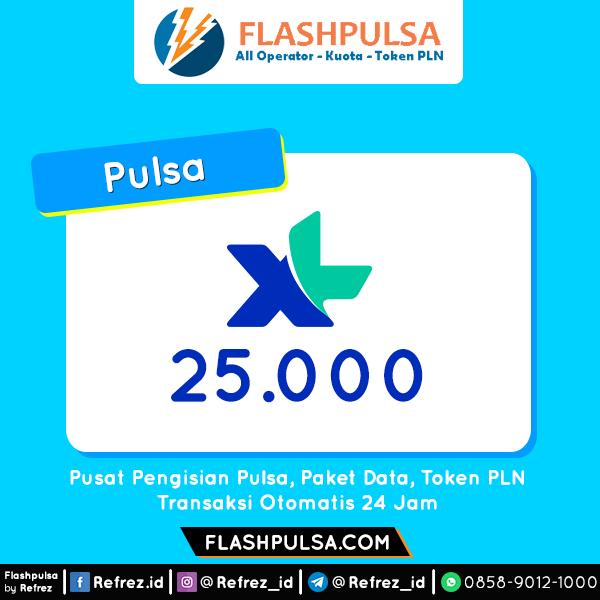 Pulsa XL Pulsa - XL 25.000