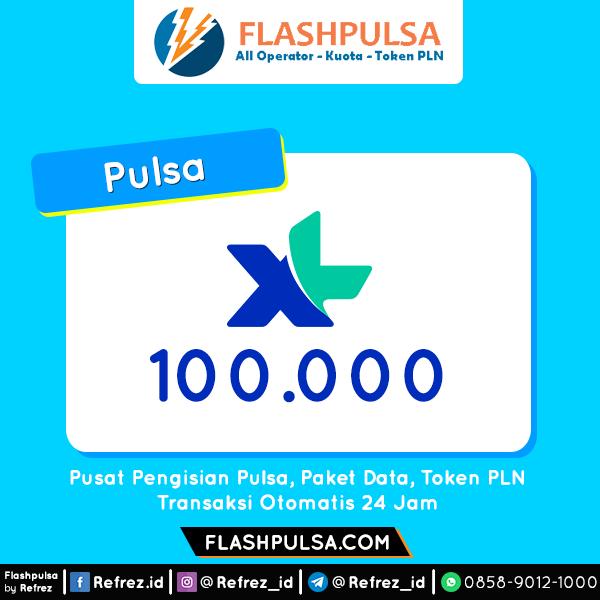 Pulsa XL Pulsa - XL 100.000