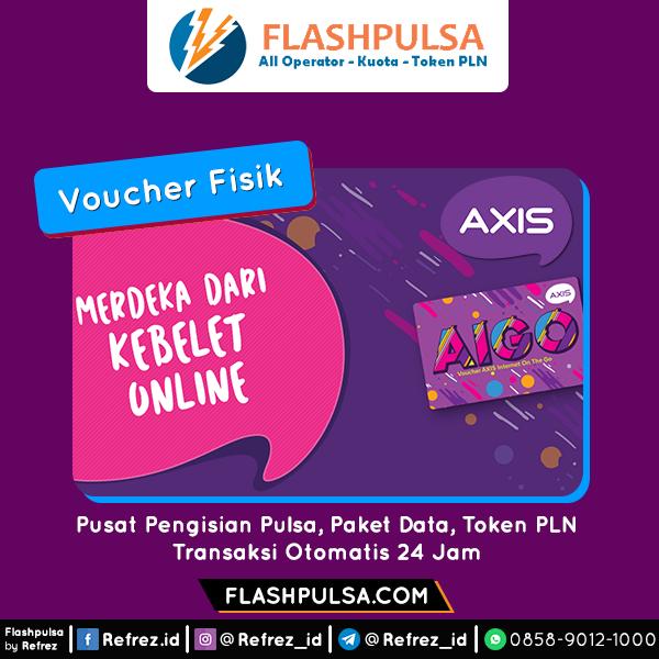 Voucher DATA Axis Aigo Voucher - 2GB 24 JAM 30HR