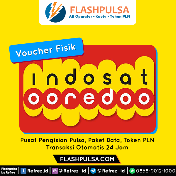Voucher DATA Indosat Data Unlimited Voucher - VOUCER UNLIMITED 7GB