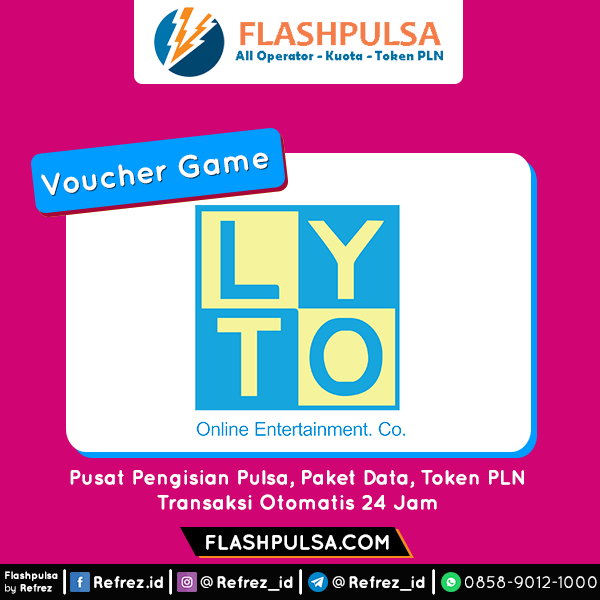 Voucher Game GAME LYTO CREDITS - GAME LYTO CREDITS (VL) 10