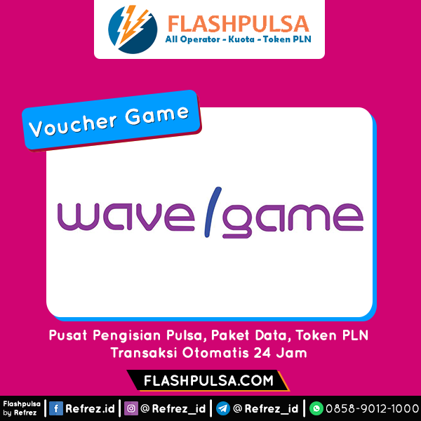 Voucher Game GAME WAVE / WAVEGAME - WAVE GAME435 Coin